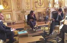 Chó cưng của tổng thống Pháp làm 3 quốc vụ khanh 'bó tay'