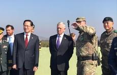 Bộ trưởng Quốc phòng Mỹ đến gần 'lò lửa' Triều Tiên