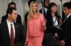 Ivanka Trump phát biểu trước khán phòng 'trống phân nửa'