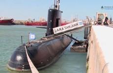"""""""Nổ"""" gần địa điểm tàu ngầm Argentina mất tích"""