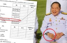 Lấy tay che nắng, phó thủ tướng Thái Lan 'lộ' đồng hồ sang