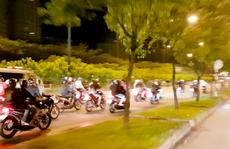 200 quái xế đua xe 'liên quận' ở TP HCM