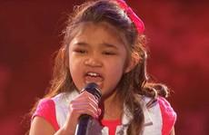 Bé gái 9 tuổi khoe giọng hát ấn tượng