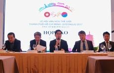 Nhiều hoạt động phong phú trong 'Lễ hội Văn hóa thế giới TP HCM - Gyeongju' 2017