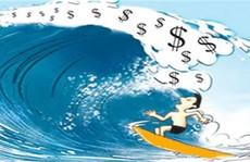 """""""Chuyến tàu"""" cổ phiếu đầu cơ lướt mạnh"""