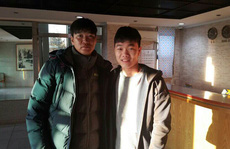 Xuân Trường đi thăm trường đào tạo Park Ji Sung