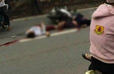 Va chạm xe tải, 3 thanh niên đi chung xe máy chết biến dạng