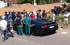 Siêu xe Lamborghini tông chết người không có thông tin đăng kiểm