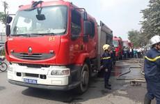 Hà Nội: Lại xảy ra cháy trên phố, nhiều người hoảng sợ