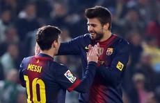 'Sợ' vợ, Messi không mời Pique dự lễ cưới