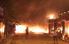 CLIP: Cảnh hoang tàn sau vụ cháy kinh hoàng ở chợ đêm Phú Quốc