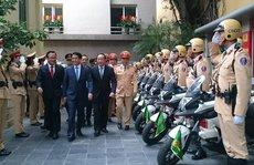 CSGT Hà Nội triển khai 100% số quân đảm bảo an toàn mùa lễ hội