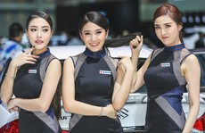 Người đẹp khoe sắc ở triển lãm Bangkok Motor Show 2017