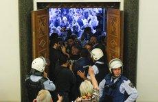 Đổ máu trong Quốc hội Macedonia sau khi lộ diện tân chủ tịch