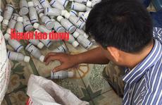'Người bí ẩn' điều hành đường dây sản xuất thuốc trừ sâu giả