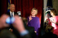 Bà Clinton tham dự lễ nhậm chức của ông Trump