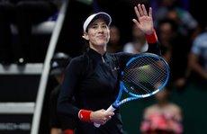 Muguruza xinh đẹp ghi điểm tại WTA Finals