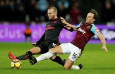 West Ham cầm hòa Arsenal, muốn giải cứu 'ngôi sao bị thất sủng'