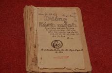 Trưng bày bảo vật quốc gia - cuốn 'Đường kách mệnh'