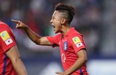 Đại thắng, U20 Hàn Quốc dẫn đầu bảng 'tử thần'