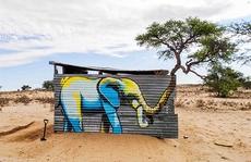 Những bức ảnh thú vị về nghệ thuật đường phố gắn liền với thiên nhiên