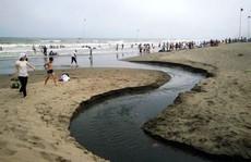 Cống nước hôi thối chảy ra biển Sầm Sơn được xử lý