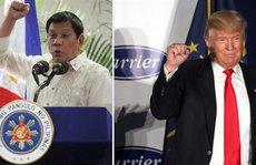 Tổng thống Donald Trump khen cuộc chiến chống ma túy ở Philippines