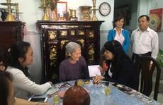 Lãnh đạo LĐLĐ TP HCM thăm gia đình chính sách
