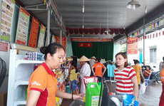 Bán hàng lưu động phục vụ công nhân