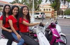Biệt đội 'xế nữ không ôm' số 1 Phnom Penh