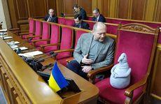 Đằng sau chuyện thú nhồi bông đi họp quốc hội ở Ukraine