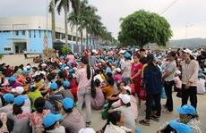 8.000 công nhân ngừng việc vì không có nhà để xe