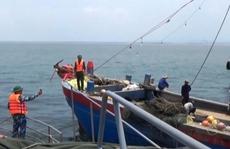 Truy bắt 2 tàu cá Trung Quốc xâm phạm vùng biển Việt Nam