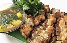 Thịt ba chỉ chiên giòn kiểu Thái