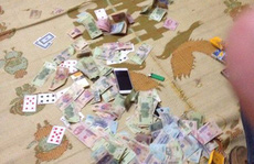 Đột kích sới bạc 'khủng' trong đêm, thu gần 300 triệu đồng