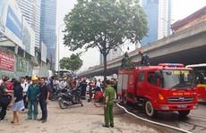 Cháy lớn gần tòa nhà Keangnam