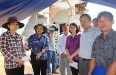 TP Hồ Chí Minh sẻ chia nỗi đau người dân vùng bão Phú Yên