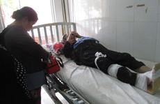 Cụ bà 88 tuổi gặp nạn khi đi cầu cá tra