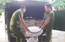 Thu giữ 3.000 kg đường nhập lậu từ Lào