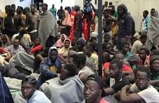 'Chợ người' tại Libya