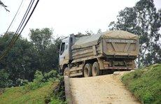 Tài xế xe quá tải dọa giết thanh tra giao thông