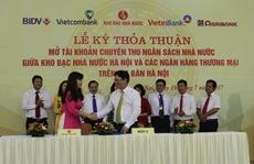 BIDV và Kho bạc Nhà nước ký kết Thỏa thuận phối hợp thu Ngân sách Nhà nước tại Hà Nội