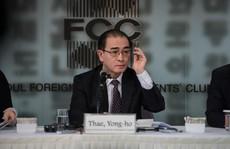Nhà ngoại giao đào tẩu mách nước Mỹ đối phó Triều Tiên