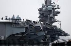 Tàu sân bay Mỹ bắt đầu tuần tra biển Đông