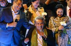 Assange nhẹ nhõm vì kết quả bầu tổng thống Ecuador
