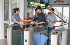 Ga Sài Gòn vận hành soát vé tàu tự động