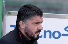 Bất mãn học trò, Gattuso dọa từ chức HLV Milan