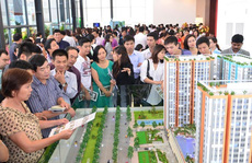 Tiền rót vào bất động sản đã giảm