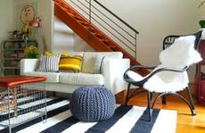 Lắng nghe phòng khách kể câu chuyện tấm thảm sọc trắng đen có phép mầu diệu kì