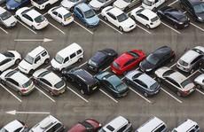 Bãi đỗ ôtô nghìn chỗ của những tài xế kỷ luật cao